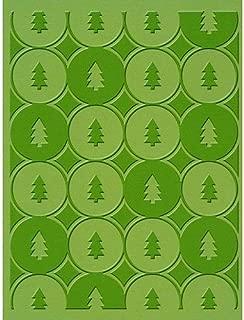 Provo Craft Cuttlebug A2 Embossing Folder, Winter Trees