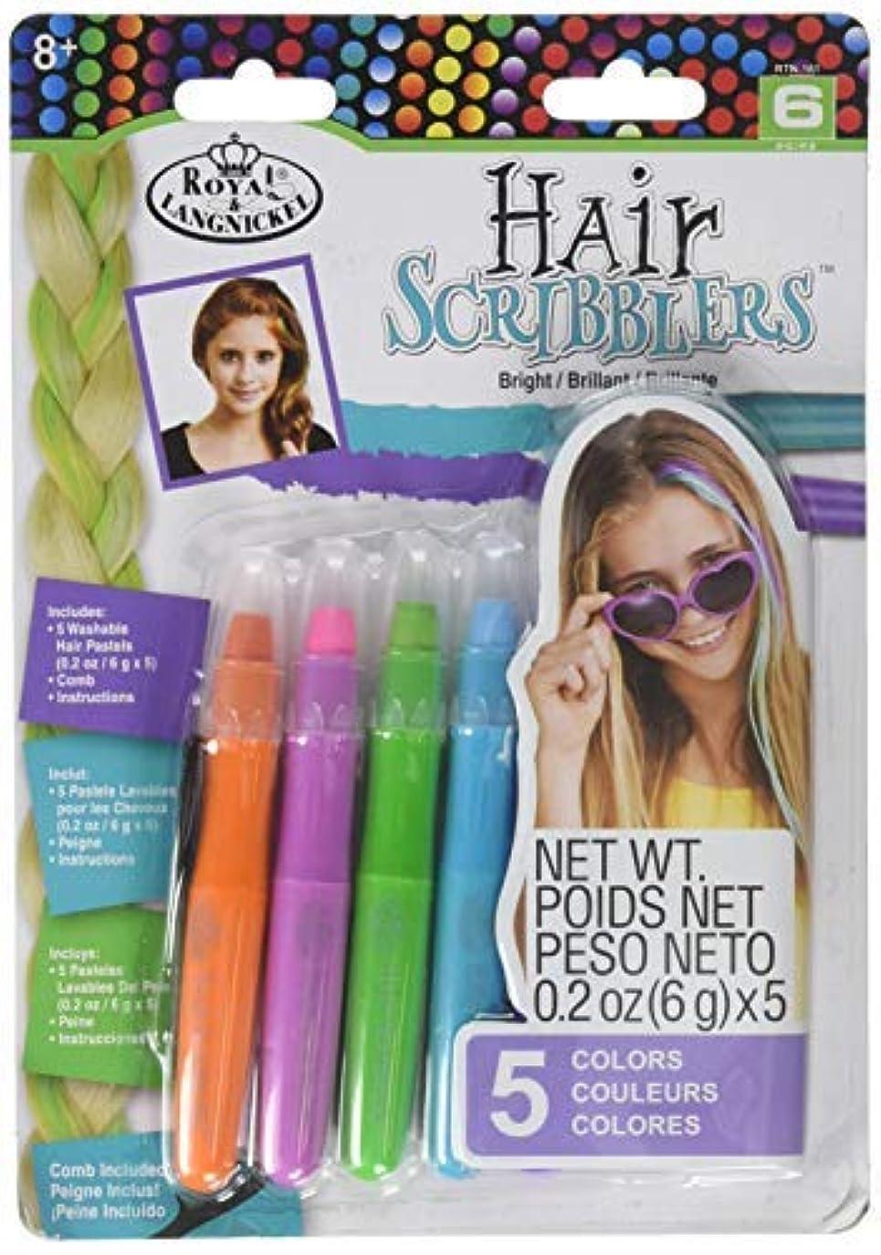 崇拝する伝導志すRoyal RTN-161 Hair Scribblers 1 Comb 5pc [並行輸入品]
