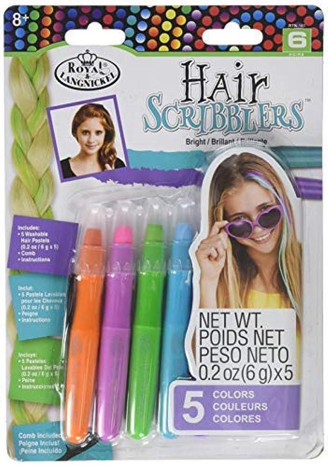 覗く弱まる物理学者Royal RTN-161 Hair Scribblers 1 Comb 5pc [並行輸入品]