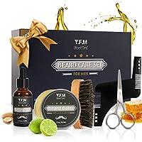 Y.F.M Men's Beard Care Grooming & Trimming Kit