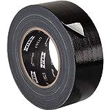 Gaffa Tape schwarz 50 mm x 50 m, GRIP Eventbasics GT 561 Allround Reparaturband, Universal Klebeband mit starker Klebkraft