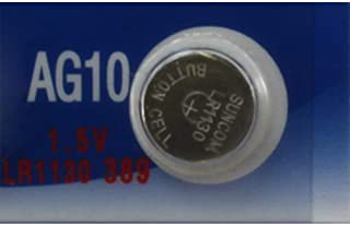 (10) AG10 LR1130 LR54 L1131 SR1130 389 189 RW89 BATTERIES