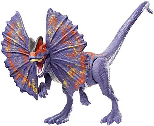 Mattel GFG69 - Jurassic World Dino Rivals Dino-Angriff Dilophosaurus