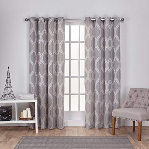 cortina jacquard fabricante Exclusive Home Curtains