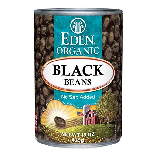 Eden Organic Black Beans No Salt Added Pack Under blast sales of 15-Ounce Cans Ranking TOP7