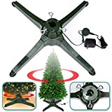 BenefitUSA Rotating Tree Stand for Artificial Christmas Tree Revolving Tree Base Only