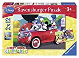Ravensburger 07565 - Topolino And Co Puzzle, 2x12 Pezzi