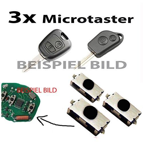 3 x llave Interruptor pulsador - Micro interruptor