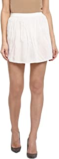 MIWAY Women's a-line Synthetic Shorts