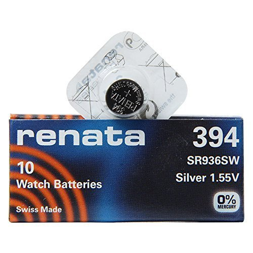 Renata 394 SR936SW 1 Pack x (10) Silber 1,55 V Made in Swiss