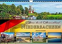 Reise durch Deutschland - Niedersachsen (Wandkalender 2022 DIN A4 quer): Niedersachsen, vielseitiges Bundesland im Norden Deutschlands. (Monatskalender, 14 Seiten )