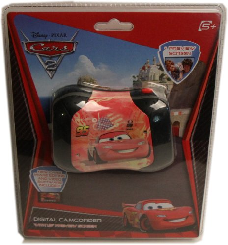 Disney 39006-RS Cars Camcorder with 1.5-Inch LCD Screen (Red)