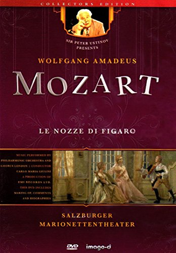 Le Nozze di Figaro - Salzburger Marionettentheater, 1 DVD