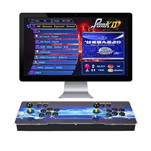 TAPDRA Pandora 12 Joystick y botones multijugador Consola arcade Máquinas de juegos...