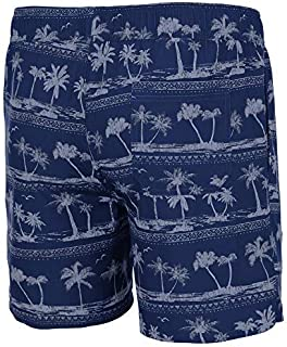 Mens UConn Connecticut Huskies Maui Swim Shorts - M [並行輸入品]