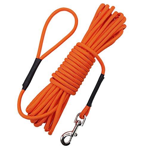 Vivifyin Hundetrainings-Seil, 10 m, schwimmfähig, lang, mit Griff für Strand, See
