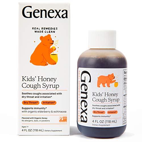 Genexa Kids' Honey Cough Syrup - Or…