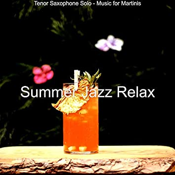 Tenor Saxophone Solo - Music for Martinis