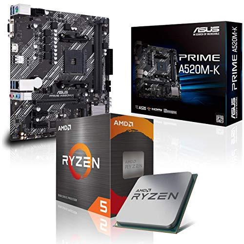 Memory PC Aufrüst-Kit Bundle AMD Ryzen 5 3600 6X 3.6 GHz, 16 GB DDR4, A520M-K, komplett fertig montiert inkl. Bios Update und getestet