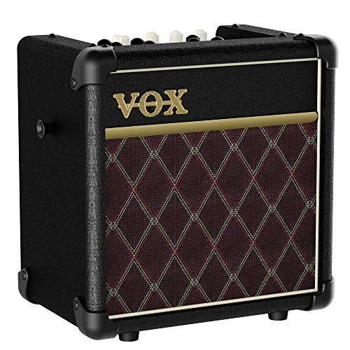 VOXギター用モデリングアンプリズムパターン内蔵MINI5RhythmCLクラシック自宅練習ストリートに最適持ち運び電池駆動マイク入力MP3接続ヘッドフォン使用可5W