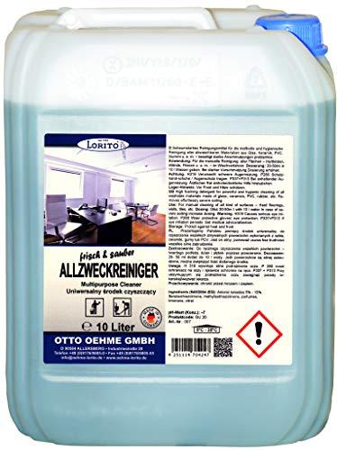 LORITO frisch & sauber Profi Allzweckreiniger Allesreiniger 10 Liter