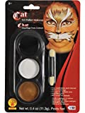 Tri-Colour Palette - Cat / Animal Body and Face Paint (Maquillaje/ Pintura de Cara)
