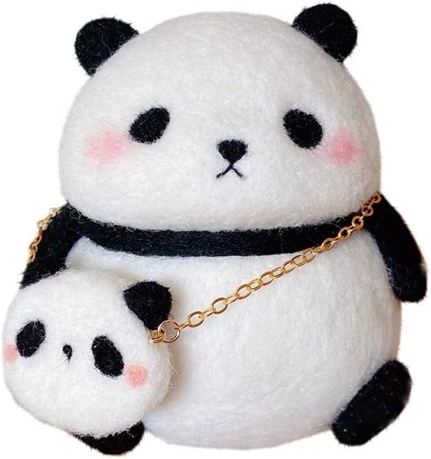 WellieSTR 1 Set Cute Panda Animals Industry No. 1 Kit Felt Charlotte Mall Felting Needle