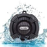 SoundBot SB512-PRO HD Premium Water & Shock Resistant Bluetooth Wireless Shower Speaker, Hands-Free Portable Speakerphone w/ Hi-Fi Output, Built-in Mic, 6Hrs Playtime