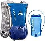 AONIJIE Sac d'Hydratation Running 5L Sac Trail Gilet Trail Sac à Dos Léger pour Marathon...