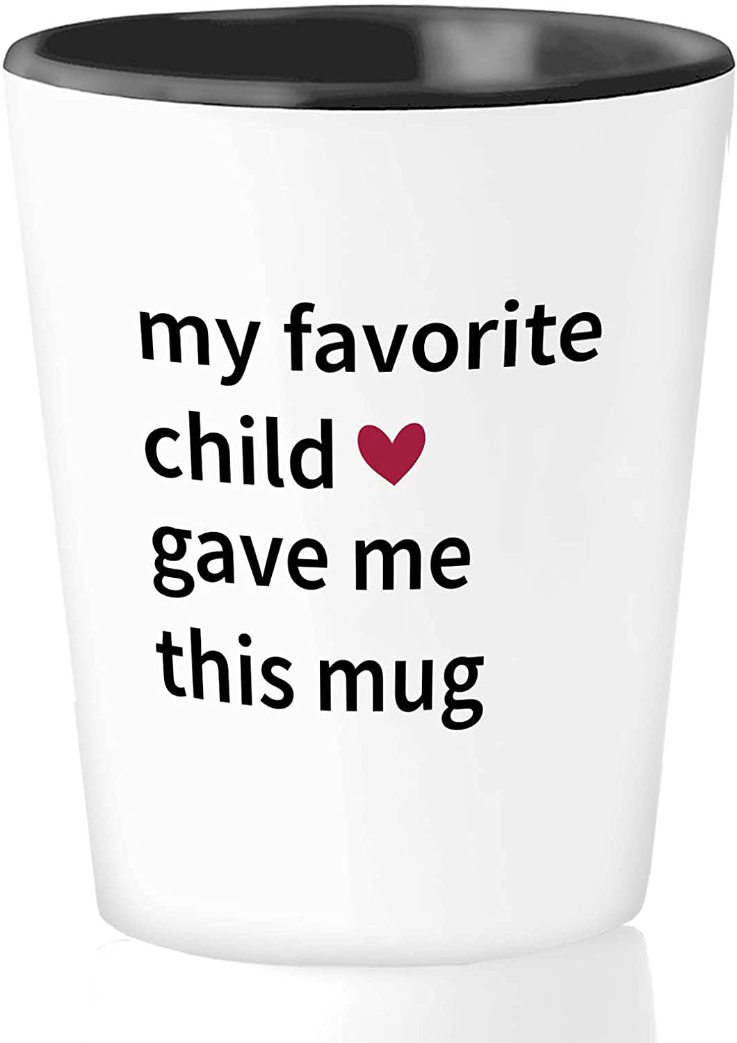 Mother Shot Glass 1.5 oz - My Store Momm This Child Favorite Me Branded goods Gave