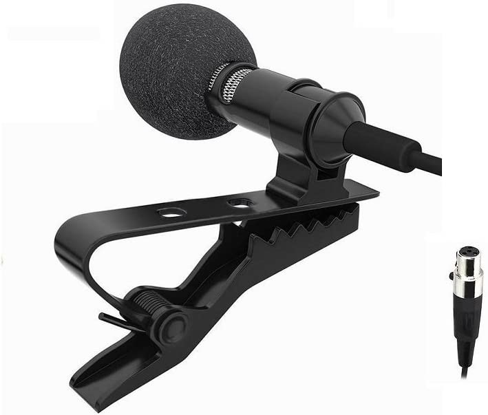 Sale item Pro Mini San Antonio Mall lapel lavalier Microphone Microfone 4P For XLR Wireless