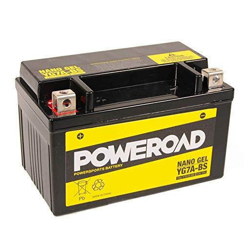 Batterie YTX7A-BS GEL YG7A-BS POWEROAD