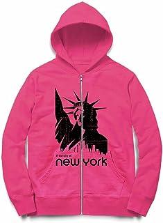 Fox Republic 自由の女神 ニューヨーク ピンク キッズ パーカー シッパー スウェット トレーナー 150cm