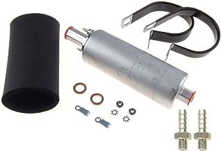 MASO 255 LPH High Pressure Inline Fuel Pump Complete Kit for Walbro GSL392 Fuel Line Pump Universal Auto Accessories