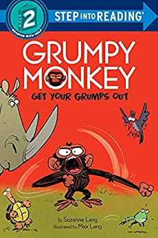 Grumpy Monkey Get Your Grumps Out (Step into Reading) by [Suzanne Lang, Max Lang]