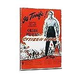 NIAIWO Movie Citizen Kane Leinwand-Kunst-Poster und