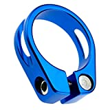 ENET Sattelstütze, 34,9 mm, Legierung, für Mountainbikes, Mountainbike, Blau