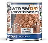 Stormdry impregnante hidrófugo para humedades por filtración de agua - Proporciona 25 años de...