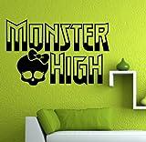 JCM Monster High Wall Vinyl Decal 22' X 14.2' (Choose Color)