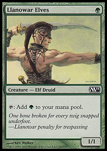Magic: the Gathering - Llanowar Elves - Magic 2011