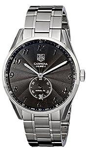 Tag Heuer Men's WAS2110.BA0732 Carrera Black Dial Dress Watch image