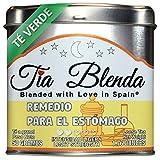 TIA BLENDA - REMEDIO PARA EL ESTÓMAGO (50 g) - Delicado TÉ VERDE Sencha Japonés Premium con ANÍS ESTRELLADO. Té en hojas. 40 - 50 tazas. Presentación premium en lata. Loose Tea Caddy.
