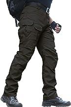 Waterbestendige broek voor heren Relaxed Fit Tactical Combat Army Cargo-werkbroek met meerdere zakken