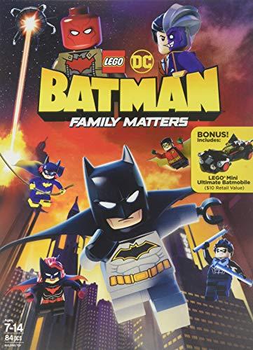 LEGO DC: Batman: Family Matters w/ LEGO Batmobile Premium (DVD)