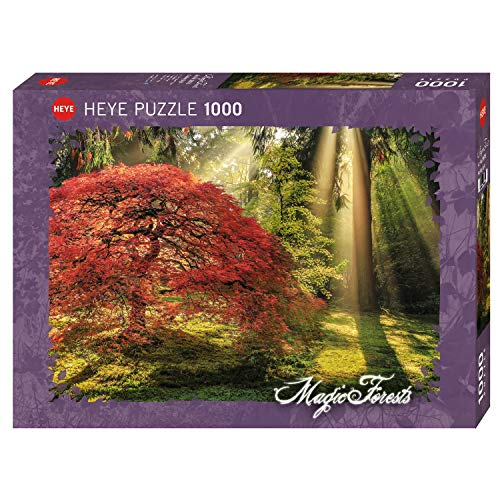 HEYE HY29855 29855 Photo Art Puzzles, Magic Forests Puzzzle, Mehrfarbig