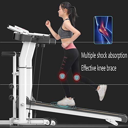 Loopband, Electric Gemotoriseerde Running Machine, Rustig, Opvouwbaar, Grote Surface, Multifunctionele, tot 150kg, voor Home Gym Workout