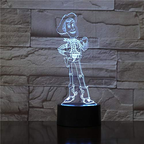 Toy S Woody Sheriff Schlafzimmer Dekoration Kind Kind Geschenk Home Dekoration Woody Kit Nachtlicht LED