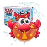 JSNRY Outdoor-Bubble Machine Frog Musik Kind-Bad-Spielzeug-Badewanne Soap Automatische Bubble Maker Baby-Bad-Spielzeug for Kinder Geben Sie Kindern einen lustigen Sommer ( Color : Crab with Box )