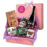 Feinkost-Geschenkset französische Spezialitäten – Gourmet Box Frankreich als Präsentkorb oder...
