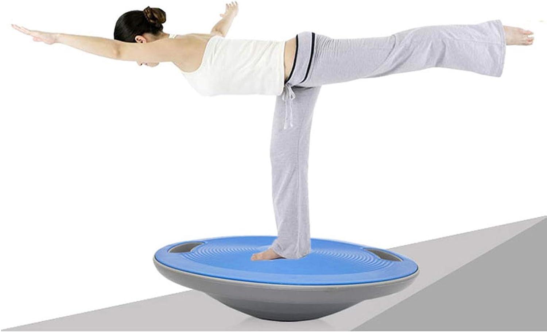 40cm Fitness Nonslip Round Balance Board Wobble Board Balance Plate Sports Training Exercise Equipment Body Sculpting